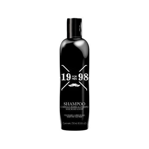 19 98 Shampoo Cabello Barba y Cuerpo Naprolab
