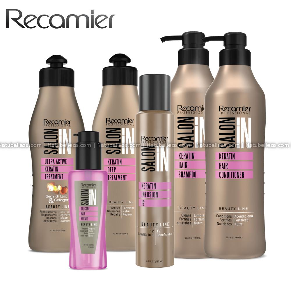 Keratin Hair Kit Recamier SalonIn