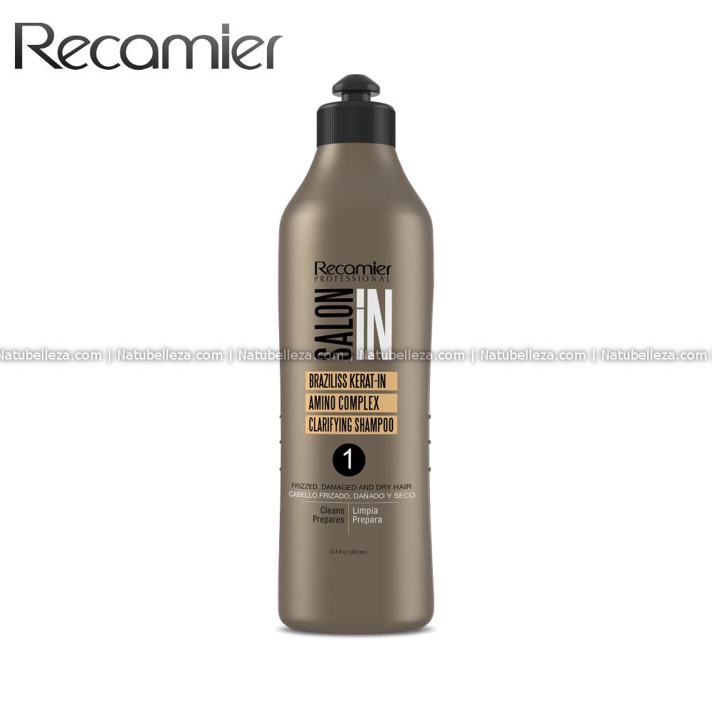 Braziliss Keratin Amino Complex Clarifying Shampoo Recamier SalonIn