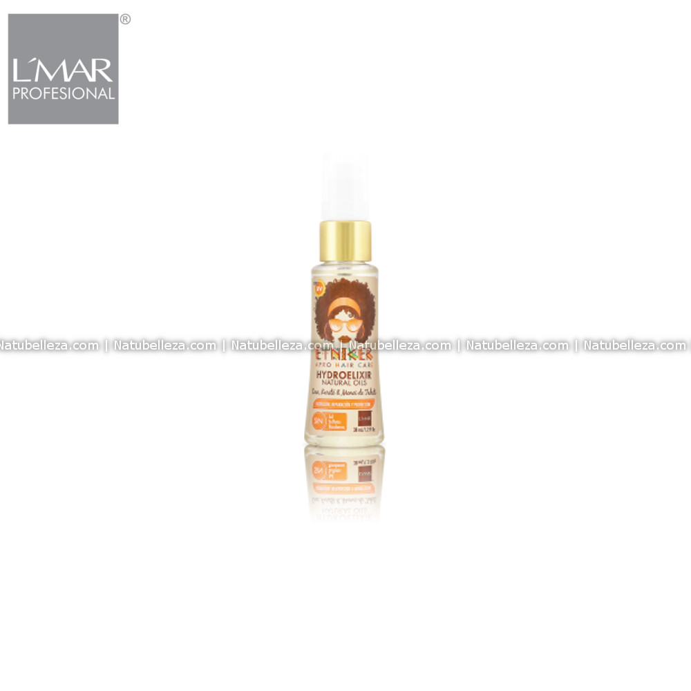 Etniker Afro Hair Care Hydroelixir Aceite Natural L'mar
