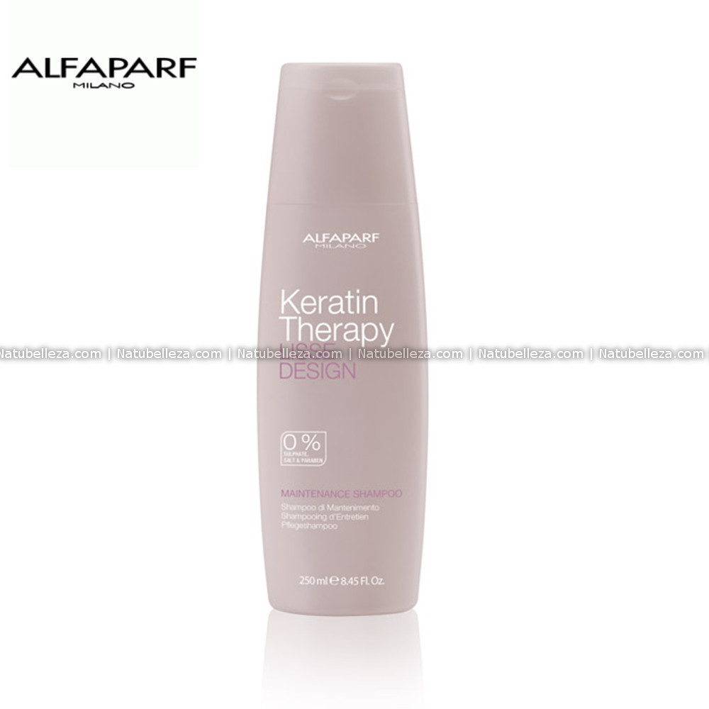 Lisse Design Maintenance Shampoo Keratin Therapy Alfaparf
