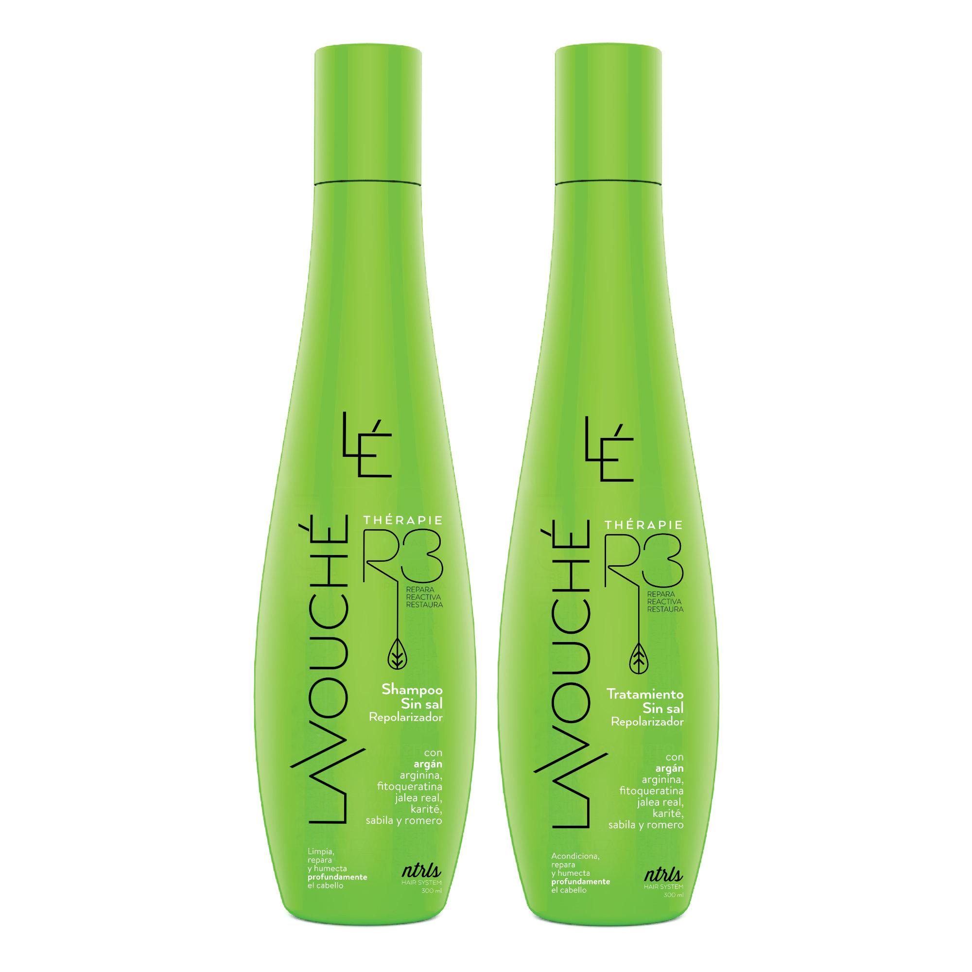 Therapy R3 Kit Shampoo y Tratamiento Repolarizador Lavouche