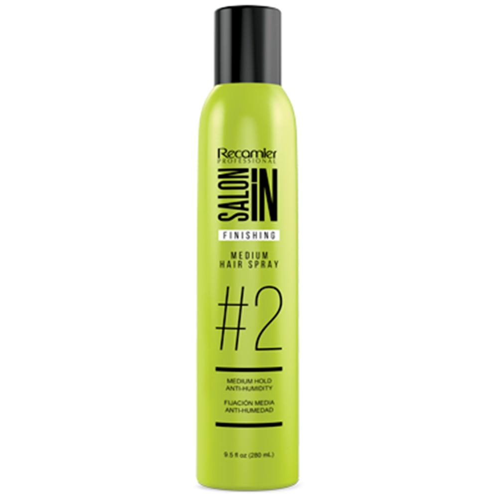 Finishing Medium Hair Spray # 2 Recamier SalonIn