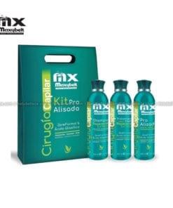 Cirugia Capilar Kit Pro Alisado Maxybelt 400mL