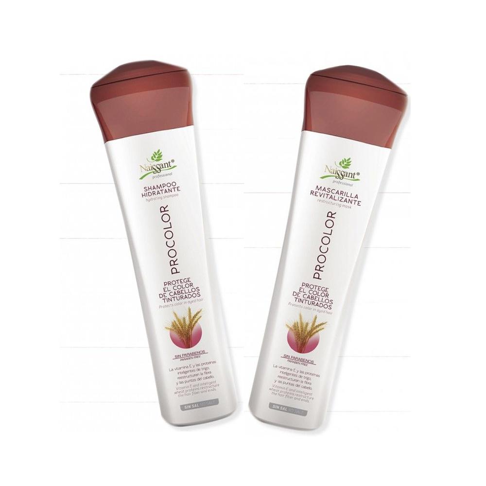 Procolor Kit Shampoo Mascarilla Revitalizante Naissant