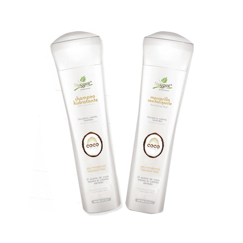 Coco Kit Shampoo y Mascarilla Hidratante Naissant