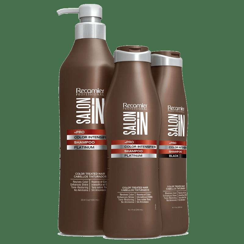 Color Intensifier Shampoo Platinum Recamier SalonIn