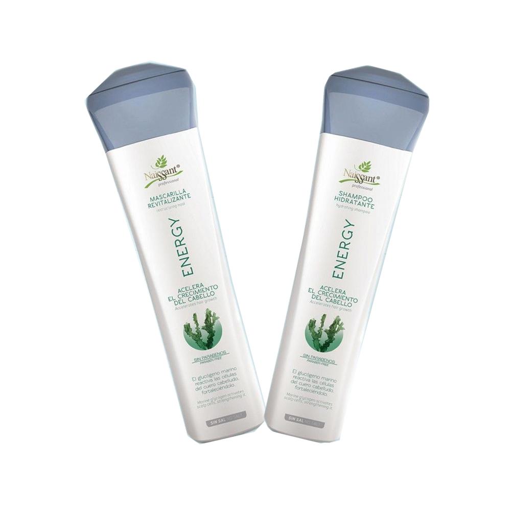 Energy Kit Shampoo Mascarilla Hidratante Naissant