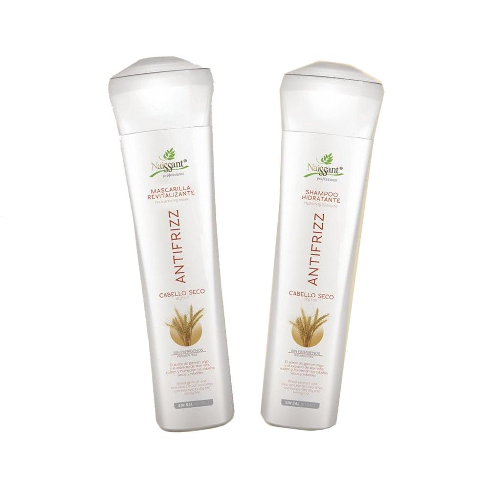 Antifrizz Kit Shampoo Mascarilla Revitalizante Naissant