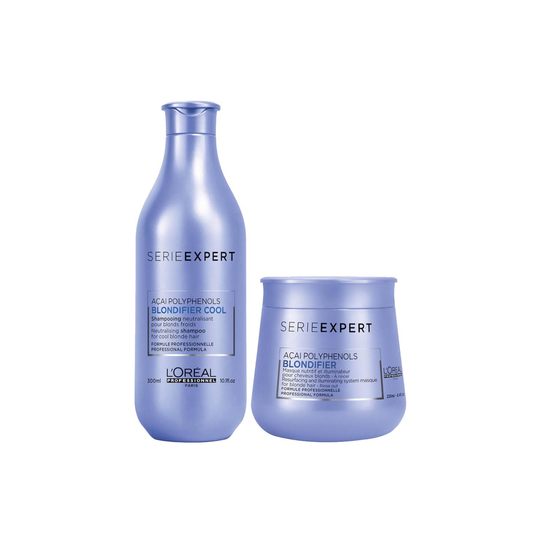 Blondifier Kit Shampoo y Mascarilla SerieExpert L'Oréal