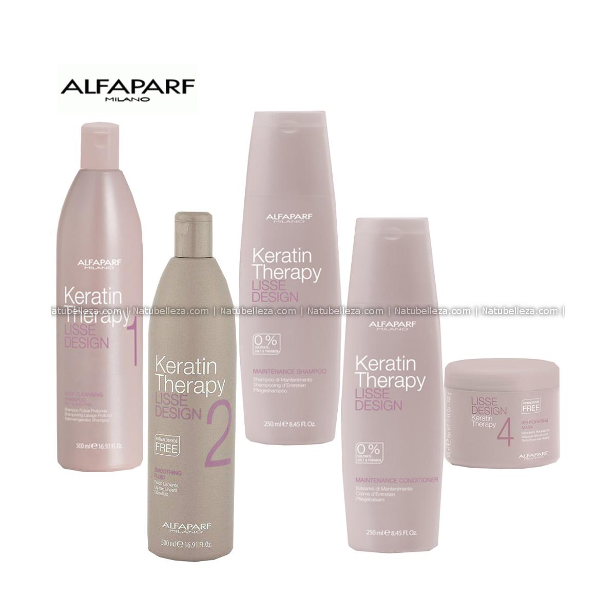 Lisse Design Keratin Therapy Kit Professional Alfaparf